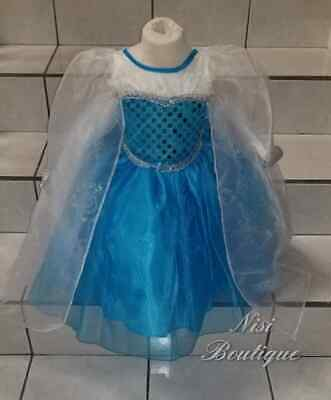 Beautiful Elsa Costume (Beautiful Princess Elsa Dress or Elsa Costume, Baby Girl Dress, Princess Elsa)