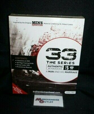 33 The Series Volume 5: Authentic Manhood: A Man and His Marriage Leader Kit