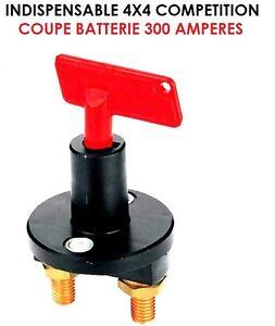 rare superbe coupe batterie 300 amperes antivol montage toutes voitures ebay. Black Bedroom Furniture Sets. Home Design Ideas