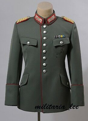 WW1 German Repro Bavarian General Field Gray Gabardine Tunic All Sizes