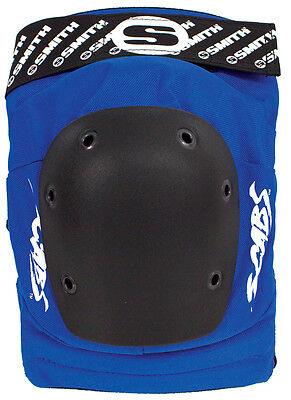 Smith Scabs Safety Gear - BLUE Elite Knee Pads - roller derby skateboard inline