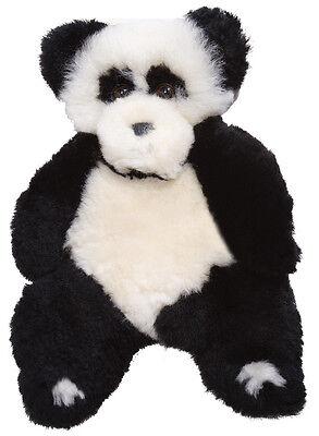 Flat Friends Giant Panda Bear Lambskin soft toy Bear Lambskin Soft Toy