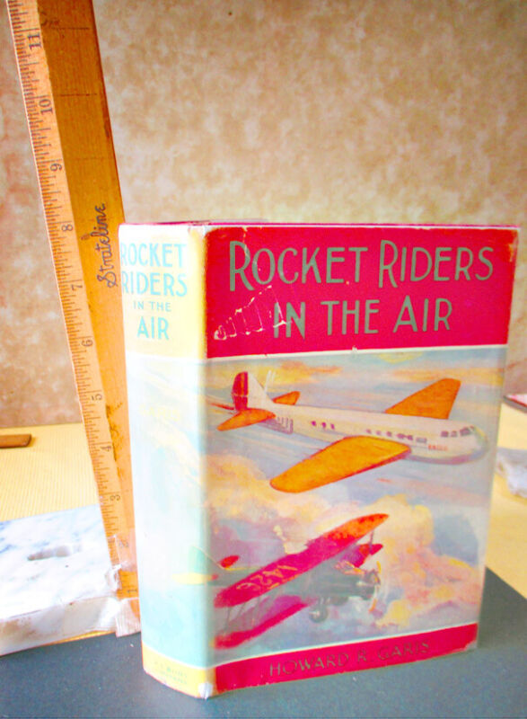 ROCKET RIDERS IN THE AIR,1934,Howard R. Garis,DJ