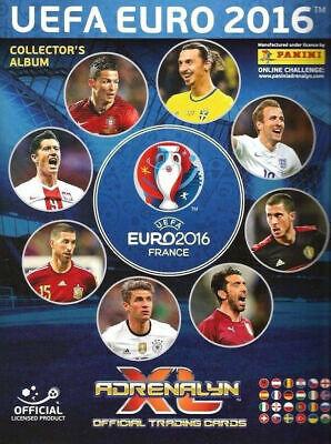 Album raccoglitore card ADRENALYN EURO 2016 BINDER + GUIDEBOOK VUOTO