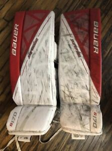Goalie Pads and Trapper