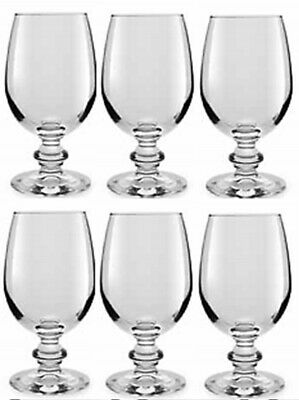 Libbey Essenza 6er Set Transparentes Glas Wein Kelchgläser 240ml Whiskey