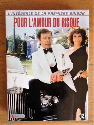 """Coffret DVD """"Pour l'amour du risque"""" Feuilleton des années 1970-80 saison 1"""