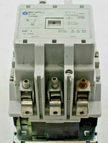 Westinghouse Motor Control A201K3CA Size 3 90 Amps