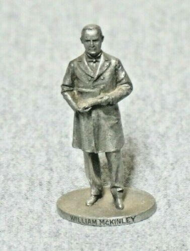 William McKinley 25th President  Danbury Mint Pewter Collection by David LaRocca
