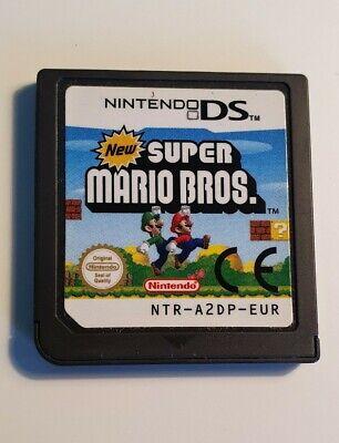New Super Mario Bros Nintendo DS cart