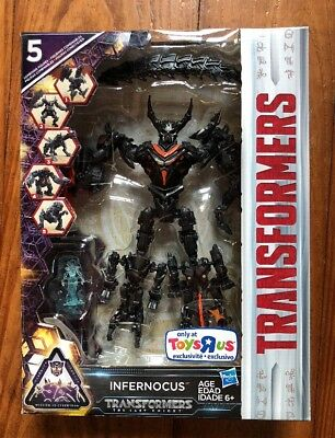 TRANSFORMERS THE LAST KNIGHT INFERNOCUS & QUINTESSA TOYS R US EXCLUSIVE