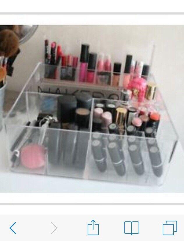 Ikea Make-up Jewellery etc Clear Acryclic Storage