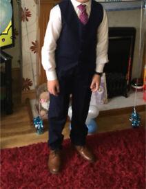 Communion suit and shoes