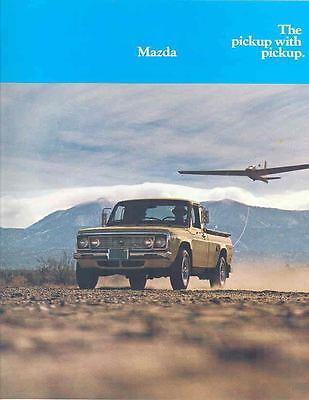 1974 Mazda Rotary Pickup Truck Brochure mx385-YNRGR5