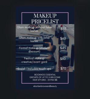 FREELANCE MAKEUP ARTIST - QUALIFIED