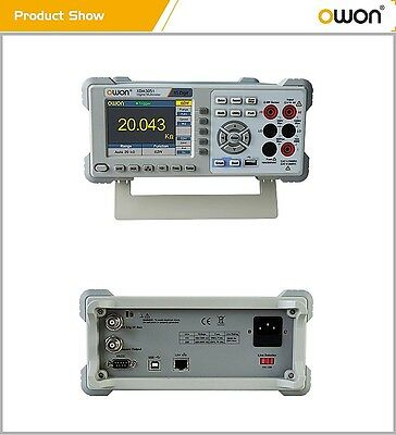 Owon Xdm3051 5 12 Bench-type Digital Multimeter Acdc Va Temp Freq Datalog