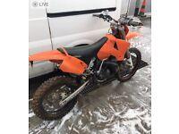 1999 KTM exc 300 hpi clear, road legal, daytime registerd