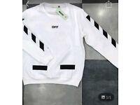 Off white - white sweater