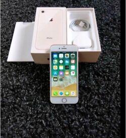 iPhone 8 65gb gold unlocked