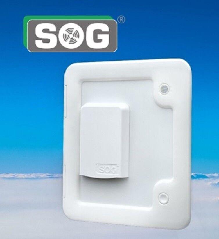 SOG 1 Typ 3000 A weiß Toilettenentlüftung für Dometi… |