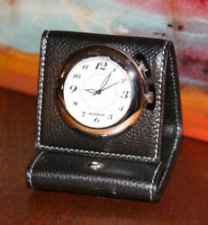 MONTBLANC SWISS QUARTZ Travel Alarm Clock