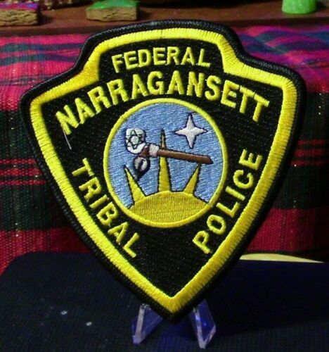 Patch Retired: Federal Narragansett Tribal Police (Charlestown, R.I.) Patch