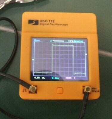 Ex Display Dso 112 Mini Digital Touch Screen Oscilloscope W Nos Noise Generator