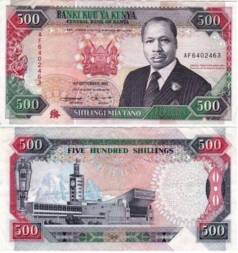 Kenya - 500 Shillings 1993, Pick 30 in  UNC