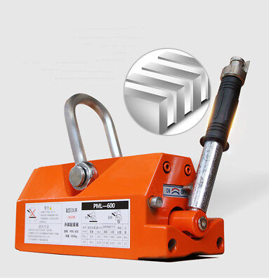 1001000kg Heavy Duty Permanent Magnet Crane Magnetic Lifter Crane Hoist Lifting