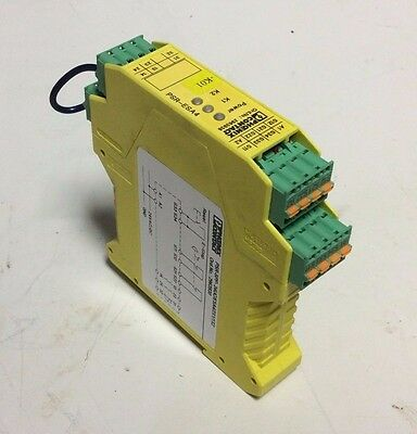 Phoenix Contact Safety Relay Module, PSR-SPP-24UC/ESA4/2X1/1X2, Used, WARRANTY