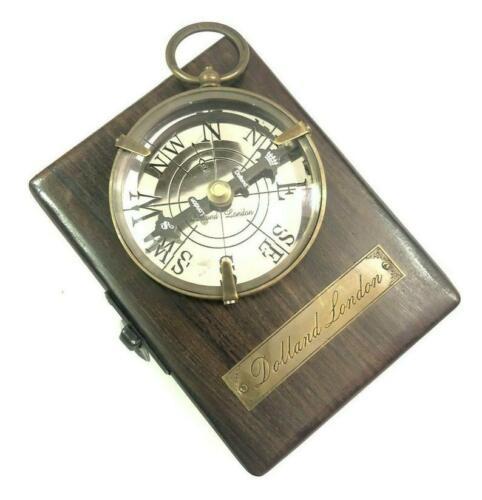 Nautical Collectibles Brass Nautical maritime Handmade Compass