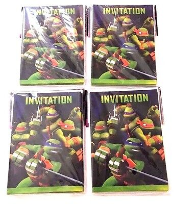 TEENAGE MUTANT NINJA TURTLES INVITATIONS  (32) ~ Birthday Party Invites](Ninja Turtle Invitations)
