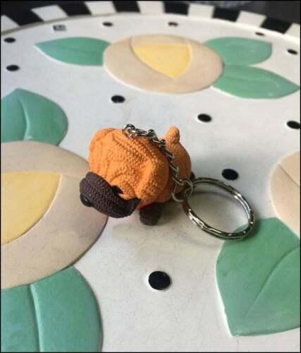 Shar Pei Charm Keychain - NEW - FREE SHIPPING