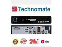 TECHNOMATE NANO TWIN TUNER CABLE BOX, 500GB HHD 24 MONTH WARRENTY