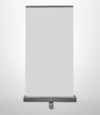 & ROLLER BANNER STAND ROLL UP SIGN 85CM x 200CM POSTER TRADE SHOW FAIR   54/21 for sale  Cradley Heath