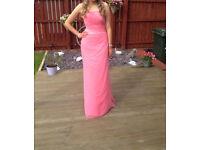 Bubblegum Pink Prom Dress Size 6