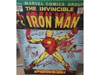 Iron man canvas art