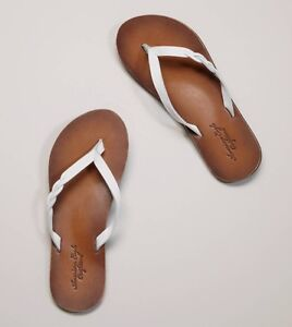 AMERICAN EAGLE LEATHER BRAIDED SANDALS-Sz10