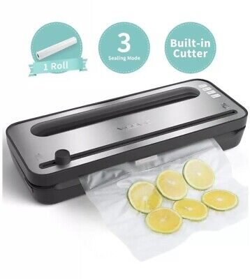 YISSVIC Vacuum Sealer Automatic Vacuum Sealing Machine with Dry and Moist Food Seal Automatic Vacuum