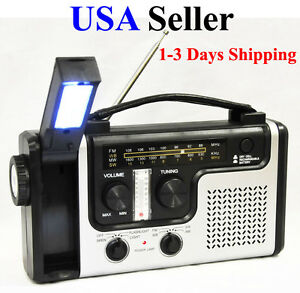 Emergency-Solar-Dynamo-Radio-LED-Lights-Charger-Crank