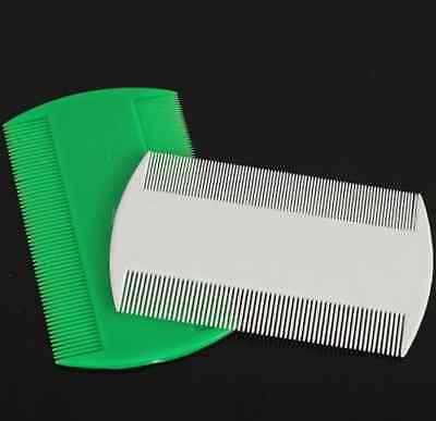 Wholesale 2* Double Sided Nit Combs for Head Lice Detection Comb Kids Pet Flea