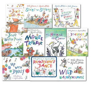 Quentin-Blake-Childrens-10-Books-Collection-Set-Early-Reader-Picture-Books
