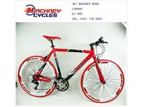 Brand New aluminium 21 speed hybrid racing road bike ( 1 year warranty + 1 year free service ) w4