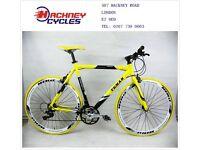 Brand New aluminium 21 speed hybrid road bike ( 1 year warranty + 1 year free service ) w