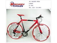 Brand New aluminium 21 speed hybrid road bike / bicycles ( 1 year warranty + 1 year free service ) r