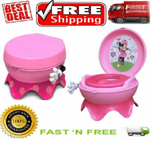 The First Years Disney Baby Minnie Mouse 3-in-1 Potty Training System Step Tool