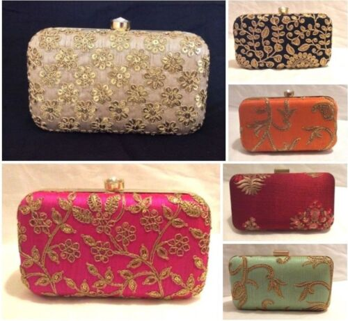 Women Bridal Bags Embroidered Smart Elegant Ladies Wedding Party Clutch Purse