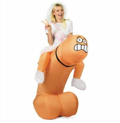 Inflatable Penis Dress Dick Costume Cosplay Outfit For Hen Party Halloween Gift - Penis Costume For Halloween