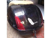 TOP CASE / BOX 35L BLACK - FOR VESPA GTS 250 GRANTURISMO