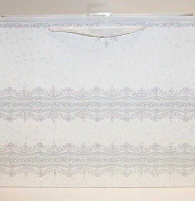 Bride And Groom Gift Bags (White wedding lace decorative gift bags Mr&Mrs, Bride and Groom, his and)